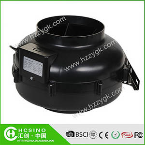 Wholesale grow room: 100-315mm,130-1118CFM Hydroponics Inline Duct Fan Grow Room Air Extractor