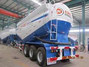 Wholesale semi trailer: 3 Axle Tanker Semi Trailer for Bulk Cement Transportation