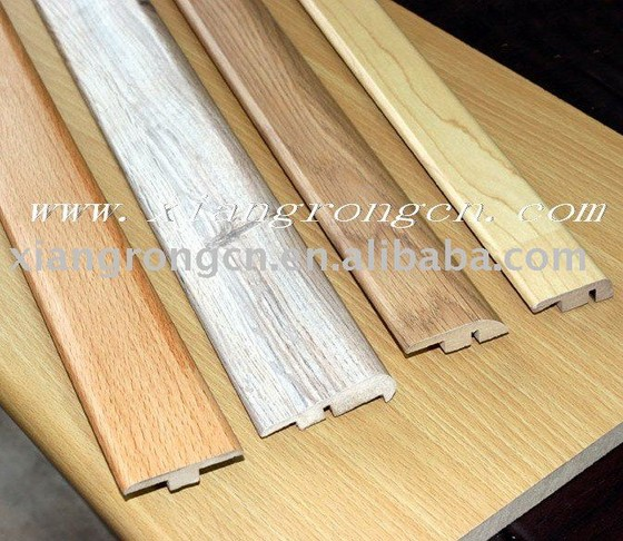 T molding with track mdf wood moulding for laminate floor