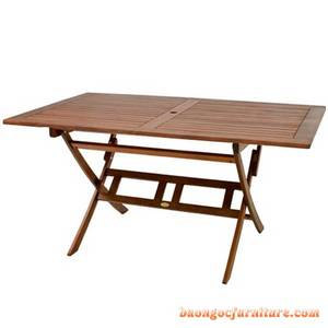 Wholesale table: Wood Furniture Outdoor 68(4025)-FOLDING RECTANGLE TABLE - CURVED LEG