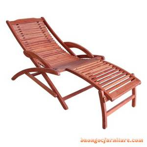 Wholesale chair: Wood Furniture Outdoor 41(2035)-RELAX CHAIR - FOOT REST ( CURVED LEG)-in Vietnam