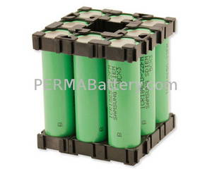 Wholesale Battery Packs: Best Li-ion Battery Pack 18650 3.7V 17.6Ah with PCM and Plastic Holder