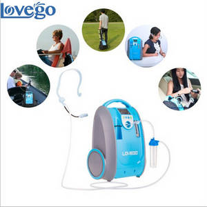 Wholesale 24hr car service: LOVEGO Portable Oxygen Concentrator with Battery