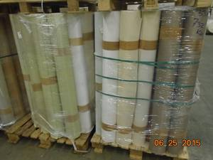 Wholesale mobile: Textile / Paper / Foam Industrial Wallpaper
