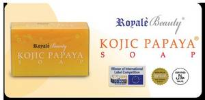 Wholesale papaya soap: Kojic Papaya Soap
