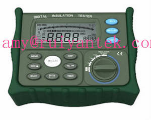Wholesale insulation tester: RY-IR5203 Digital Insulation Resistance Tester Multimeter