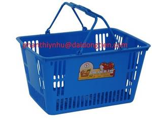 Wholesale baskets: Plastic Shopping Basket