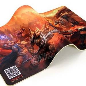 Wholesale mouse pad: 14*24 Big Area Mouse Pad, Customized Logo Printing Natural Rubber Mouse Pad