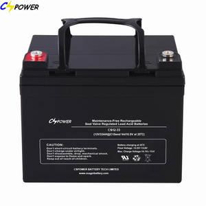 Wholesale mine explosion proof lamp: Solar Sealed Lead Acid Battery SLA Battery 12V33ah