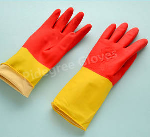Wholesale Household Gloves: Rubber Household Gloves Used for Kitchen