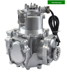 Wholesale fuel dispenser: FM4 Tatsuno Type Flow Meter with Pulser for Fuel Dispenser