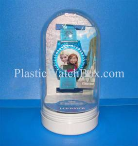Wholesale plastic box/package: Wholesale High Quality Transparent Plastic Packaging Clear Plastic Watch Box