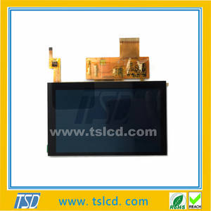 Wholesale tft: 800x480 TFT LCD Display 5inch LCD Module 6 O'clock with RTP or CTP