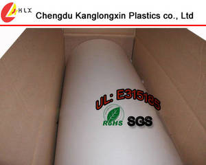 Wholesale lenticular printing service: Transparent Clear Polycarbonate Film Roll