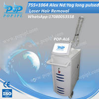 755 Gentle Alexandrite Laser Hair Removal Machine Factory China
