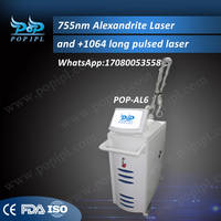 755 Alex and Nd:Yag Laser Reviews Hair Removal Popipl (1064 and 755)