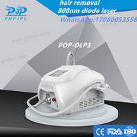 808nm Hair  Removal Portable Diode Laser IPL Hair Removal Machine 808nm Laser Hair Removal