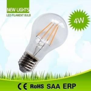 Wholesale High Pressure Sodium Lamps: China A60 4W E27 LED Lighting Bulb Energy Saving