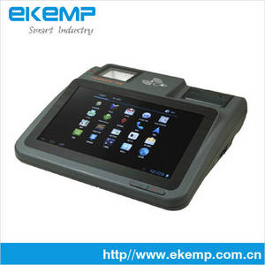 Wholesale handheld mobile thermal printer: Android 4.0 3G Desktop POS System