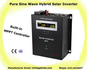 Wholesale solar controller: 1000VA Hybrid Solar Inverter with MPPT Controller