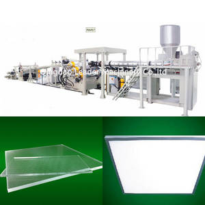Wholesale pc sheet: MMA PS PC Light Guide Sheet Plate Panel Extrusion Machine