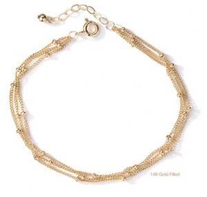 Wholesale gold bracelets: 14K Gold Filled Hermion Bracelet