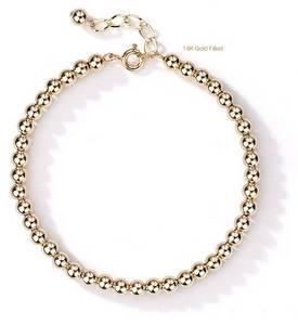 Wholesale 14k bracelets: 14K Gold Filled Metro Bracelet - 4mm