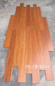 Wholesale bamboo flooring: Solid Bamboo Flooring Made of Strand Woven Material