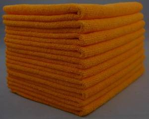 Wholesale leather chamois: 300gsm 40cm X 40cm Microfiber Cleaning Cloth