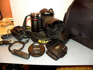 Wholesale battery: Nikon D700 12MP DSLR Camera.