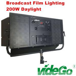 Wholesale led flood light: VIDEGO  Bi-color 1x2 100w LED Video Flood Light Studio Panel Light Broadcast Light Film Shooting