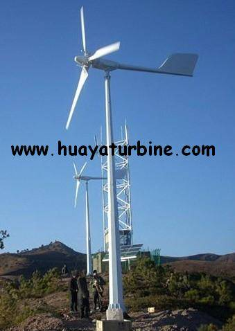 Sell Pitch Controlled Wind Turbine Generator 5kw 5000w
