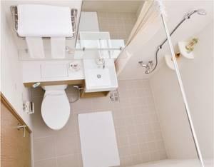 Wholesale pvc door curtains: PUDA Flat Pack Prefabricated Bathroom