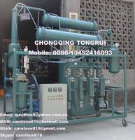 Sell used engine/motor/car oil distillation machine