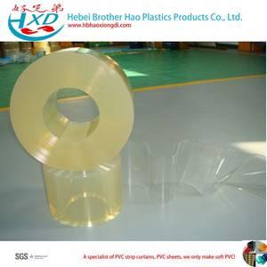 Wholesale pvc door curtains: Standard Nomal Temperature 2mm Thickness Flexible Transparent Vinyl Plastic PVC Strip Door Curtain