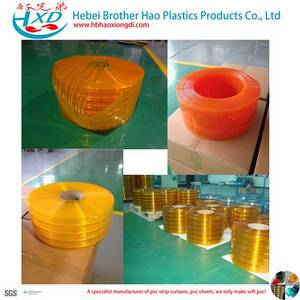 Wholesale soft pvc strip: Anti-insect Colorful Insect Bug Control Soft Flexible Clear Plastic PVC Vinyl Door Curtain Strip