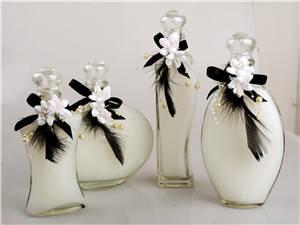 Wholesale Shower Gel: Bath Gel in Different Beautiful Decrative Glass Bottle