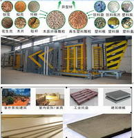 Line for Manufacture Molded WPC Board