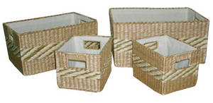 Wholesale seagrass: Seagrass Woven Basket