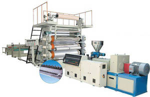 Wholesale pvc soft sheet: PVC Artificial Marble Board/ Imitated Decorative Wall Panel Extruder Machine
