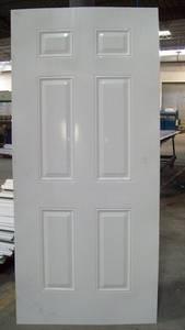 Wholesale steel door: Metal Door Skin / Galvanized Steel Door Skin