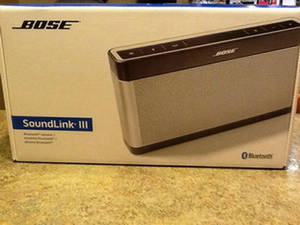 Wholesale earring: Free Shipping Bose'S Soundlink Bluetooth Speaker III 3 System