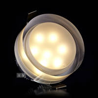 Sell high quality acrylic led downlights