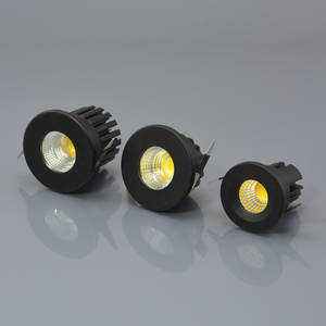 Wholesale led spotlight: 5W LED Cabinet Light 3W Cob LED Spotlight Showcase Downlight