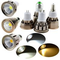 E27 E14 GU10 MR16 MR11 LED COB Spotlight