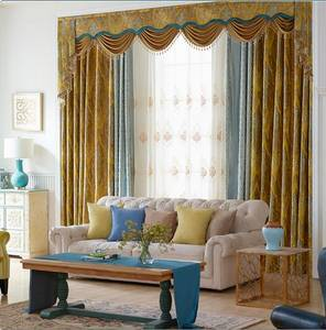 Wholesale sheer curtain: Embroidery Curtains