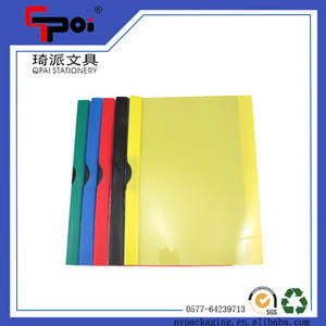 Wholesale a4 file: Wenzhou Office & School Stationery Supplier PP A4 Clear Report File Solid File Folder