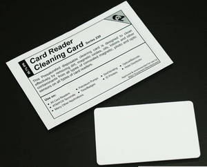 Wholesale card reader: EZ Card Reader Cleaning Card CR80