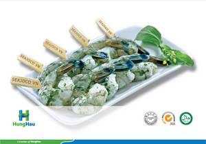 Wholesale Shrimp: Marinated PTO Shrimp Skewer (Parsley)
