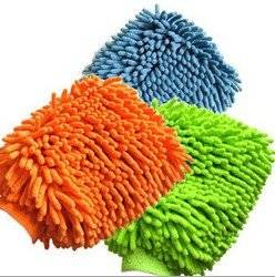 Wholesale cleaning gloves: Microfiber Chenille Mitt, Cleaning Gloves